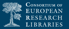 Logo of the Consortium of European Research Libraries